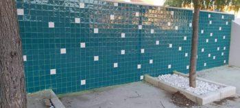 Azulejo Artesanal Muro Exterior 2
