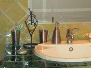 Casa de banho em azulejos vidrados 1