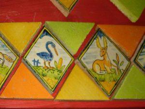 Faixa Quadrados e Triangulos