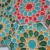 Handmade Colection Azulejo decorativo hexagonal 1