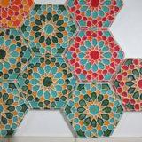 Handmade Colection Azulejo decorativo hexagonal 2
