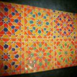 Handmade Collection Azulejo decorativo com relevo 14x14 cm 38