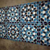 Handmade Collection Azulejo decorativo com relevo 14x14 cm 39