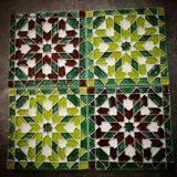 Handmade Collection Azulejo decorativo com relevo 14x14 cm 40