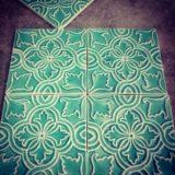 Handmade Collection Azulejo decorativo com relevo 14x14 cm 41