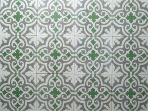 Ref 112 branco cinzento claro verde