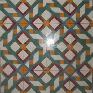 Ref 125 Mosaico Novo modelo geometrico