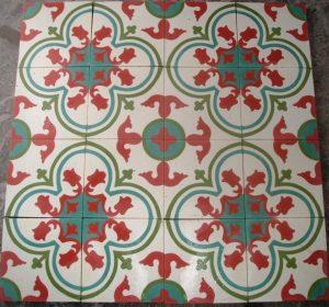 Ref 135 Branco Azul Verde Vermelho