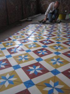 Ref 39 Colocação de Mosaico Hidraulico
