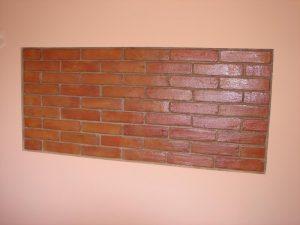 Ref 501 Terracota 30x75x2 cm para revestimento decoracao numa parede 1