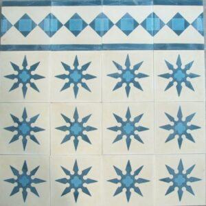 Ref 55 branco azul escuro azul celeste