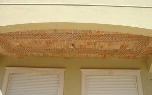 Ref 603 Terracota para revestimento 20x5x2 Tecto plano revestido com terracota 3 1000x630