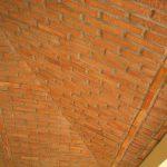 Ref 603 Terracota para revestimento 20x5x2 Tecto revestido com terracota