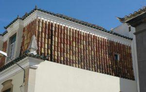 Ref 703 Revestimento em fachada com Telha Antiga Algarvia 1 1000x630