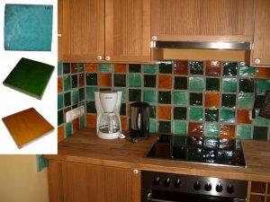 Ref 195 259 250 Cozinha em azulejo vidrado