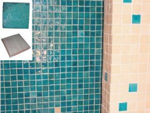 Ref 195 346 Parede em azulejos vidrados