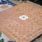 Ref 201 ladrilho santa catarina 30x15 cm riscas terraco