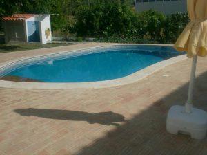 Ref 201 ladrilho santa catarina 30x15 cm riscas terraco de piscina