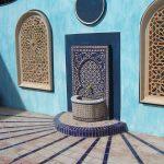 Ref 201 ladrilho santa catarina 30x15 cm riscas combinado com azulejo vidrado terraco 3