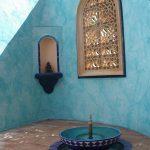 Ref 201 ladrilho santa catarina 30x15 cm riscas combinado com azulejo vidrado terraco 4
