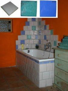 Ref 246 195 257SB Casa de banho em azulejos vidrados
