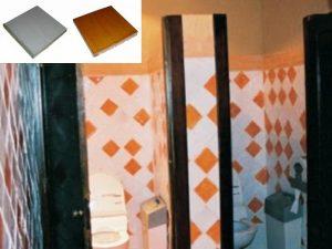 Ref 246 250 Casa de banho em azulejos vidrados