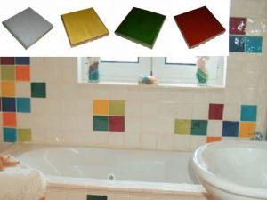 Ref 246 261 259 250SA Casa de banho em azulejos vidrados