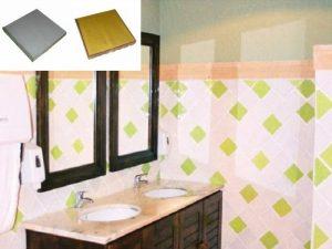Ref 246 e 261 Casa de banho em azulejos vidrados
