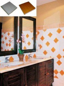 Ref 250 246 Casa de banho em azulejos vidrados