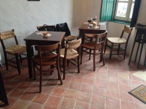Ref 301 Ladrilho 20x20 Barro Natural Aresta Viva Café Mercearia Casa Barreira