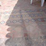 Ref 304 Ladrilho 30x30 cm desenformado a areia barro ao natural Terraco