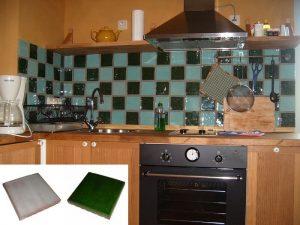 Ref 346 e 259 Cozinha em azulejo vidrado
