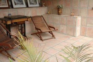 Ref 404 Terracota 40x40x25 cm  varanda