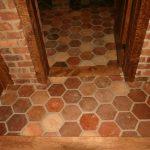 Ref 408 Ladrilho Hexagonal pavimento antigo 2