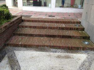 Ref 601 Tijolo Burro 20x10x4 cm Escadaria