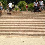 Ref 601 Tijolo Burro 20x10x4 cm Escadaria no parque