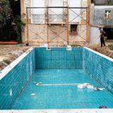 Revestimento em piscina 1