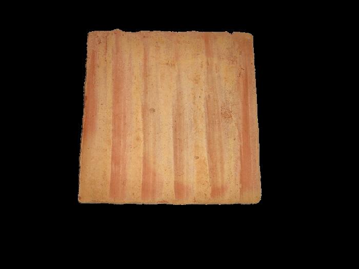 Ref 302 Ladrilho 20x20 cm desenformado a Areia com riscas 2