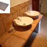 Ref 404 terracota 40x40 bancada wc