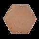 Ref 408 Ladrilho Hexagonal Regular 30 cm Aresta Viva
