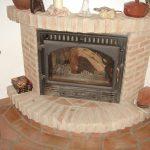 Ref 601 Tijolo Burro 20x10x4 cm Lareira com recuperador de calor