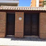 Ref 601 Tijolo burro 20x10x4 cm entrada do Edificio Mira Baia