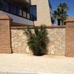 Ref 601 Tijolo burro 20x10x4 cm pilares do Edificio Mira Baia