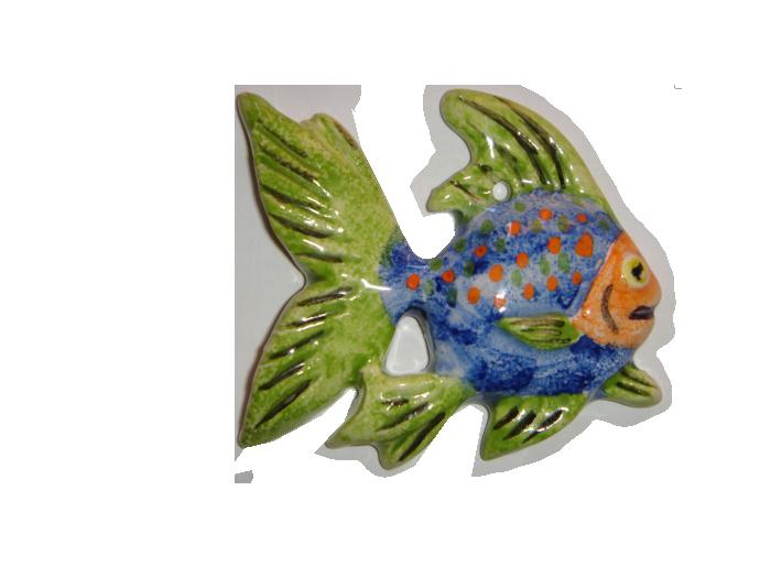 Ceramica decorativa vidrada Peixe 1 1