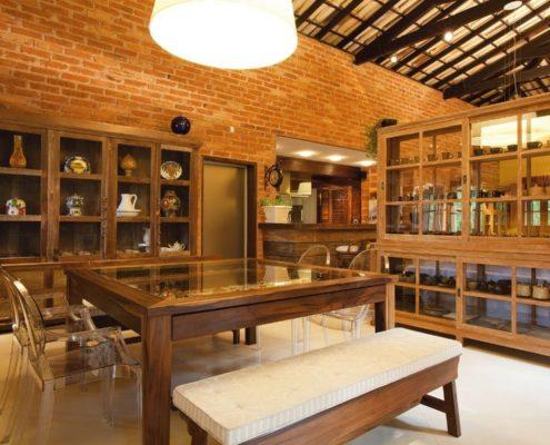 Decoração rústica - Cozinha rustica 495x400