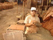 10 areia usada para desmoldar a terracota