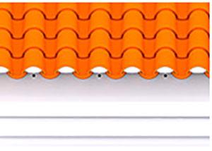 Figura 6 orifícios de ventilação frente