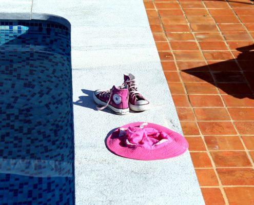 Ref 301 Ladrilho 20x20 cm desenformado a areia terraco de piscina 495x400